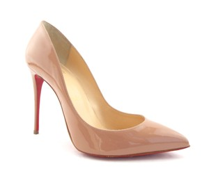 Christian Louboutin Pointy Follies Pigalle Follies Heels So Kate Nude Pumps