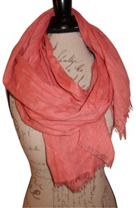 Unbranded Woven Lightweight Raw Ends Sheer Boho Scarf