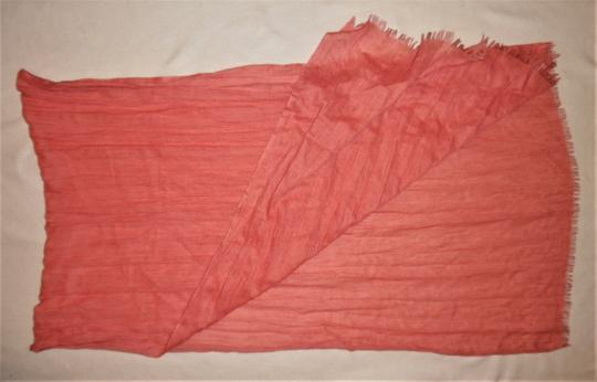 Unbranded Woven Lightweight Raw Ends Sheer Boho Scarf Image 1