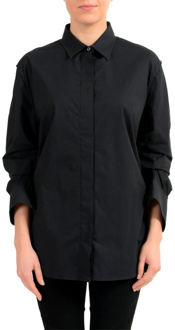 Maison Margiela Button Down Shirt Black Image 0