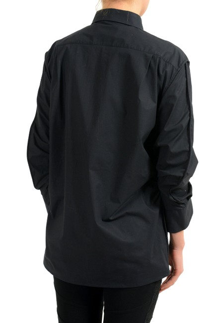Maison Margiela Button Down Shirt Black Image 1