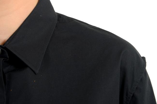Maison Margiela Button Down Shirt Black Image 2