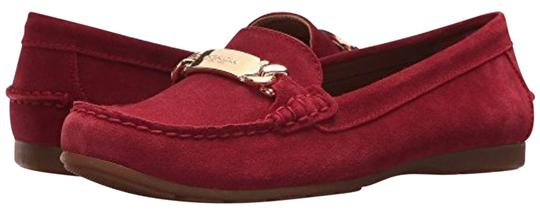 Preload https://img-static.tradesy.com/item/23376532/coach-true-red-olive-loafers-flats-size-us-10-regular-m-b-0-1-540-540.jpg