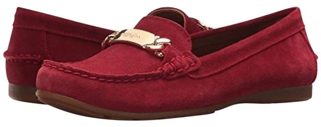 Item - True Red Olive Loafers Flats Size US 9.5 Regular (M, B)