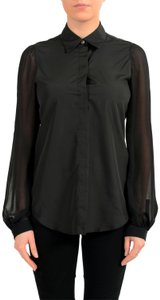 MM6 Maison Martin Margiela Top Black