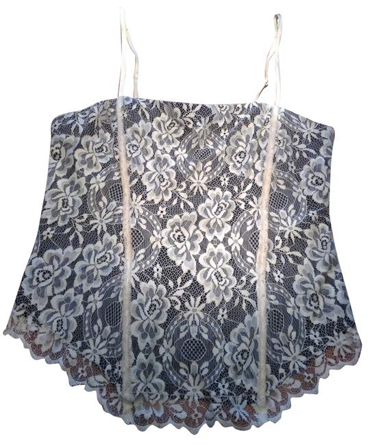 Preload https://item3.tradesy.com/images/limited-too-top-black-and-cream-lace-2337682-0-0.jpg?width=400&height=650