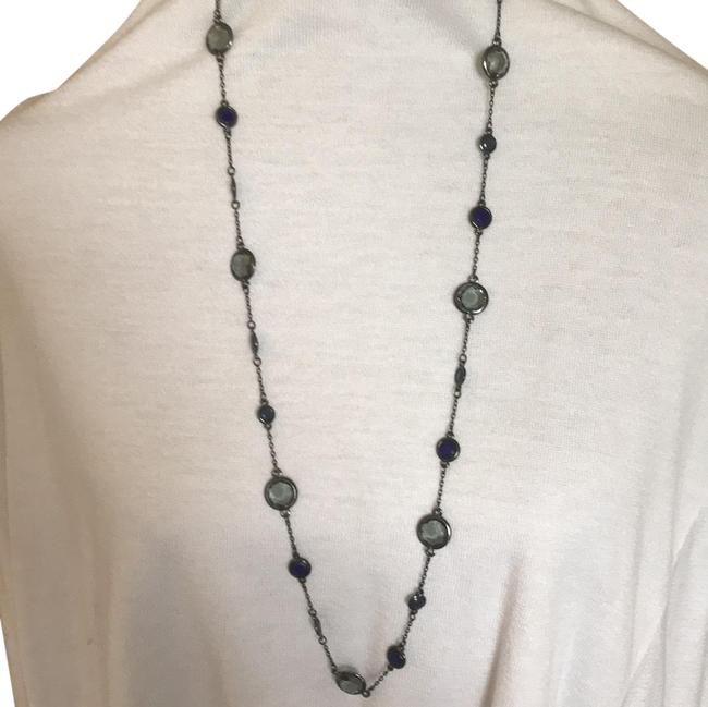 Item - Grey and Royal Blue Necklace