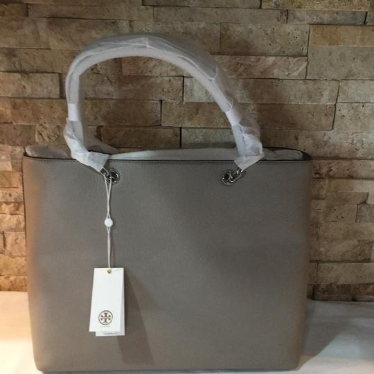 Tory Burch Tote in French Gray Image 3