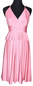 Lisa Nieves Jersey Ruffle Prom Bridesmaid Dress