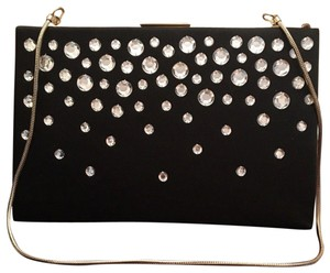 Kate Spade Studded Night Out Black Clutch