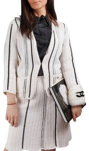 Chanel CHANEL 06P White Skirt & Jacket Suit