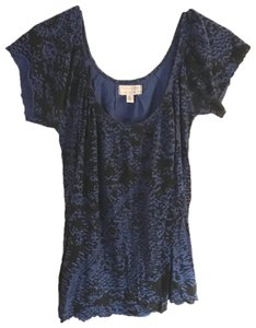 Urban Outfitters Top Black and Blue