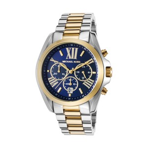 Michael Kors Brand New Michael Kors Bradshaw Blue Dial Two-tone Ladies Watch MK5976