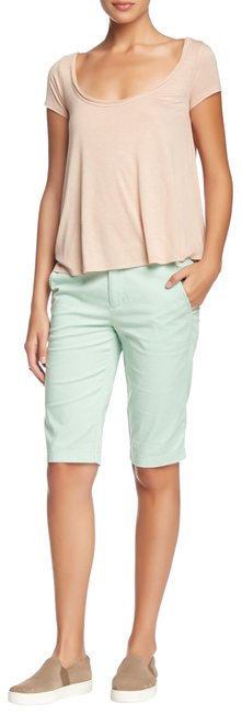 Item - Mint Chip Green Buckle Shorts Size 0 (XS, 25)
