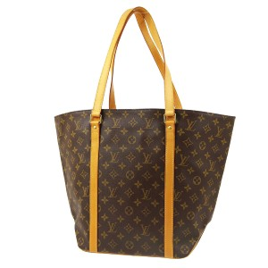 Louis Vuitton Leather Vintage Canvas European Limited Edition Tote in brown