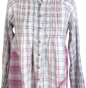 Sundance Button Down Shirt purple