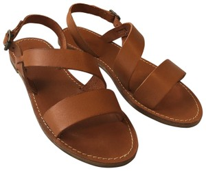 Madewell buffalo warm sand Sandals