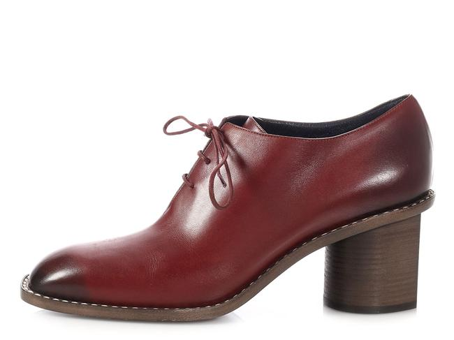 Item - Red Burgundy Leather Brogues Boots/Booties Size EU 40.5 (Approx. US 10.5) Regular (M, B)