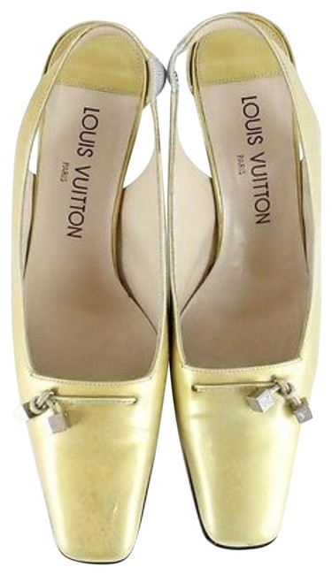 Item - Yellow Vernis Leather 36.5 Mules Pump Formal Shoes Size US 6 Regular (M, B)
