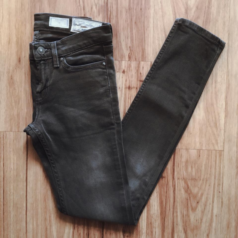 discount sale huge discount to buy AllSaints Gray Dark Rinse Ember Ashby Low-rise Skinny Jeans Size 24 (0, XS)  59% off retail