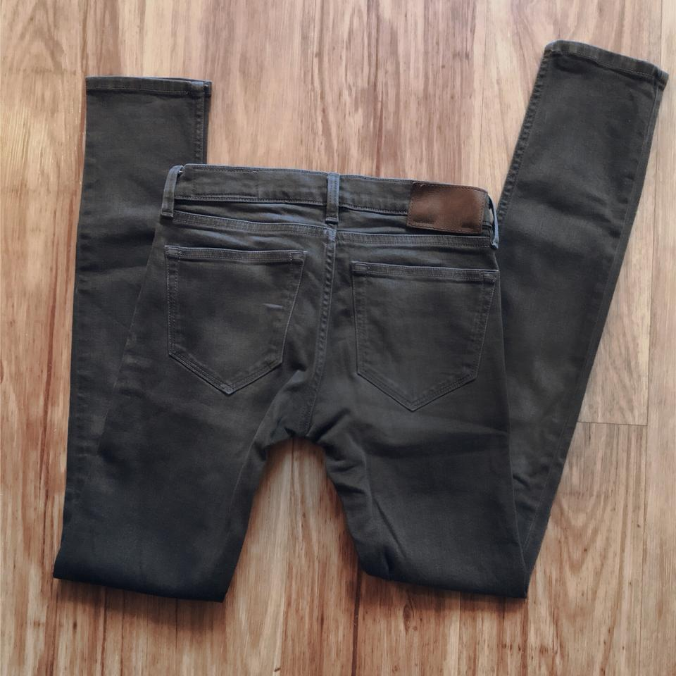 AllSaints Gray Dark Rinse Ember Ashby Low-rise Skinny Jeans Size 24 ... 22f3f8c5c