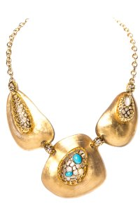 Alexis Bittar Alexis Bittar Gold and Resin Necklace