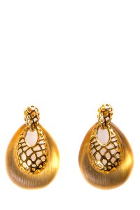 Alexis Bittar Alexis Bittar Gold and Resin Earring