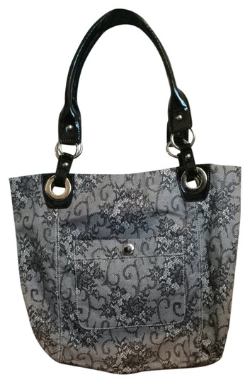 Preload https://item5.tradesy.com/images/nine-west-black-lace-polyester-tote-2337964-0-0.jpg?width=440&height=440