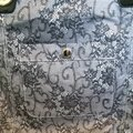 Nine West Tote in Black Lace Image 1