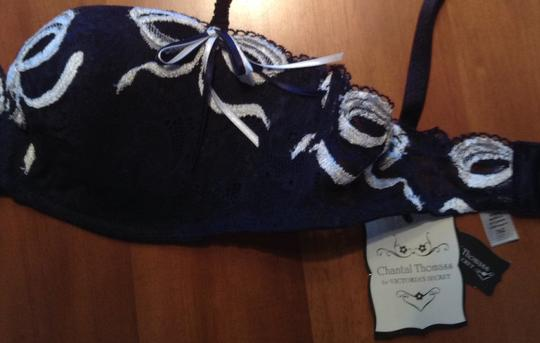 Victoria's Secret Victoria Secret. Brand new, tickets attached! Navy and white lace bra and panty set