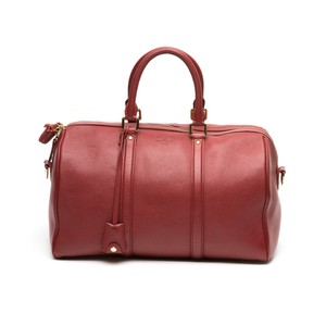 Louis Vuitton Sofia Coppola Duffle Satchel in Red