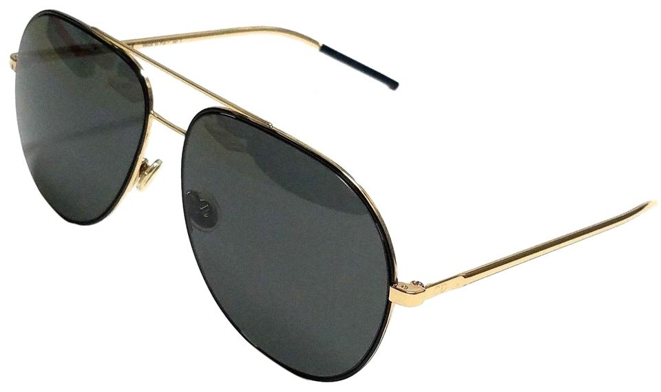 27d1dbe968 Dior Christian Dior ASTRAL 2M2 IR Black Gold Grey Sunglasses Image 0 ...