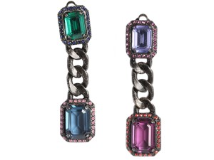 Lanvin Tutti Frutti Crystal Earrings