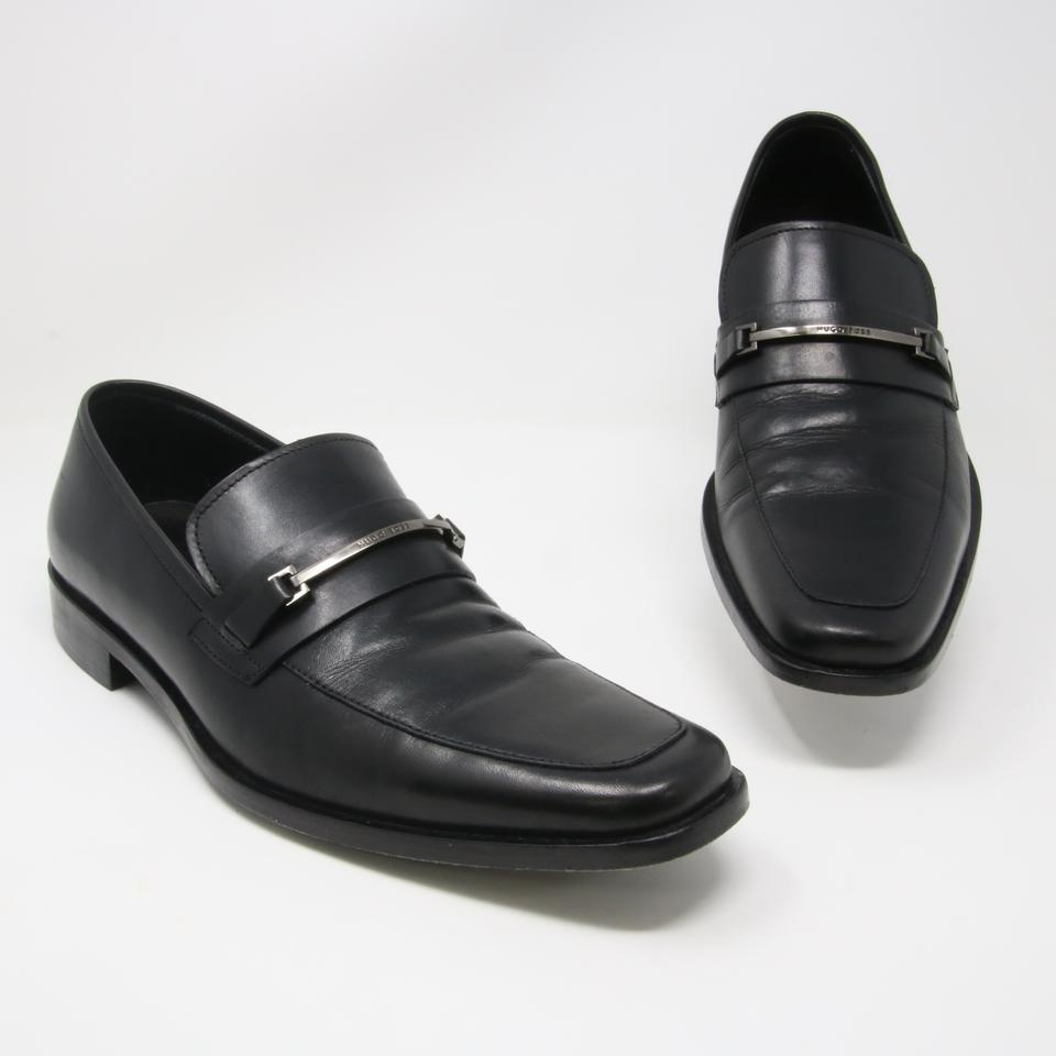 17884e935be Hugo Boss Black Classic Men s Carl Leather Loafers 8.5 Shoes Image 0 ...