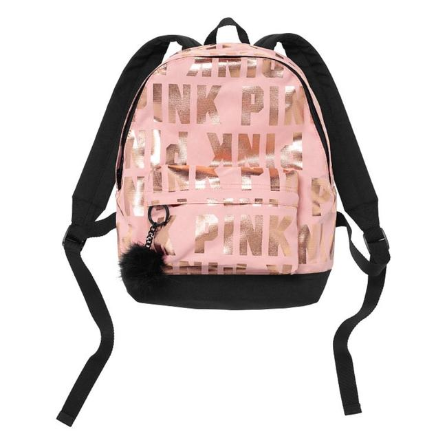 Item - New Mini Baby Pink Polyester Backpack