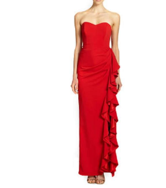 Badgley Mischka Red Marchesa Notte Pink Pastel-pink Gown Long Formal Dress Size 6 (S) Badgley Mischka Red Marchesa Notte Pink Pastel-pink Gown Long Formal Dress Size 6 (S) Image 1