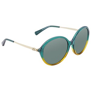 3496e9b90b3ad Green Coach Sunglasses - Up to 70% off at Tradesy
