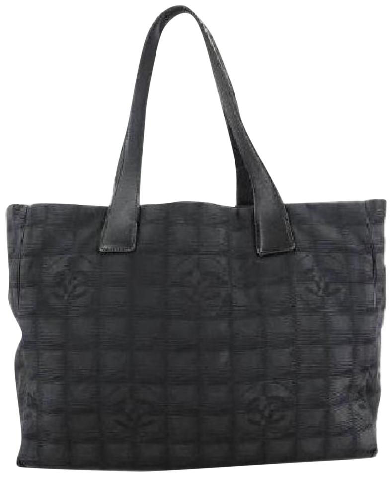 1a849e23c15a46 Chanel Shopper Neverfull Quilted Cheapest Tote in Black Image 0 ...