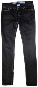 People's Liberation Low Rise Star Pockets Skinny Jeans-Dark Rinse