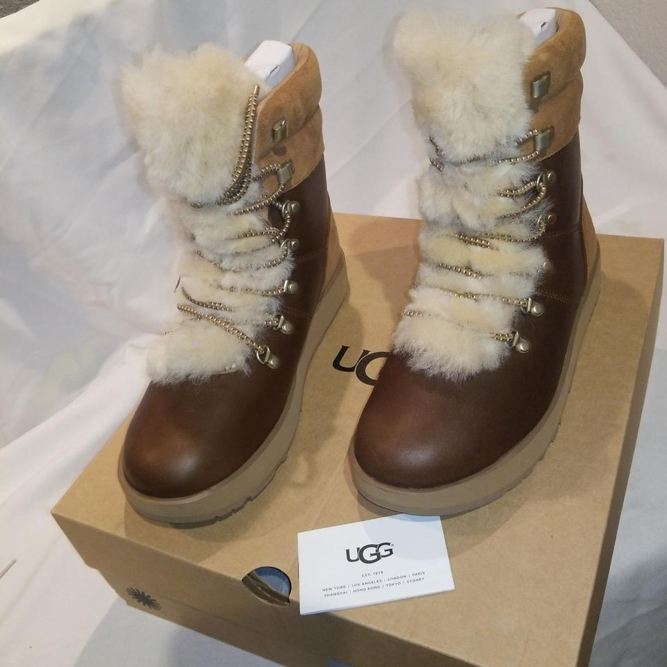 0f96c281a60 UGG Australia Chestnut W Viki Waterproof Boots/Booties Size US 5.5 ...