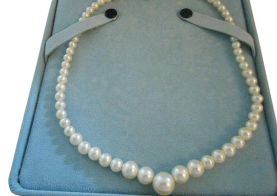 Sears Faux Pearls, 18 in. with a gold filled clasp.