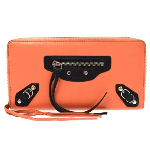 Balenciaga Zip Around Continental Wallet 866892