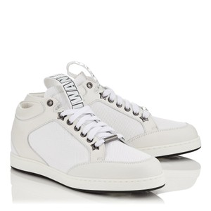 7284690e8c2 White Jimmy Choo Sneakers - Up to 90% off at Tradesy
