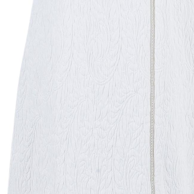 Chloé short dress white Quilted Cotton on Tradesy