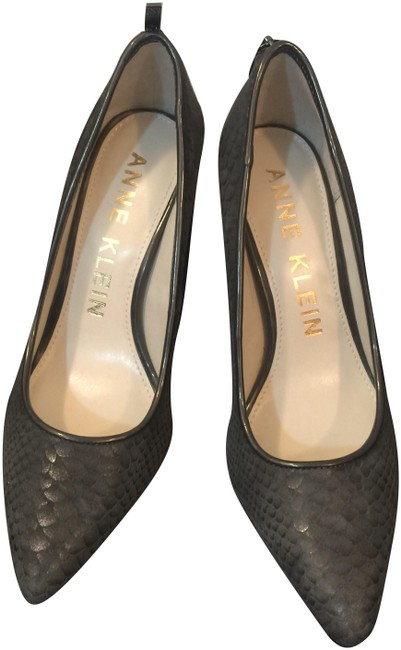 Anne Klein Grey Akfalicia Pumps Size US 6 Regular (M, B) Anne Klein Grey Akfalicia Pumps Size US 6 Regular (M, B) Image 1