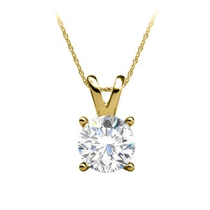 Marco B Free Gold Lobster Clasp Chain with Diamond Pendant