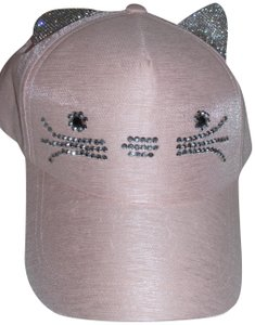 Other NWT cat kitten pink baseball cat sun visor summer hat