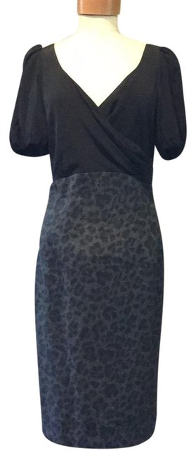 Preload https://img-static.tradesy.com/item/23382339/rebecca-taylor-blackmulti-grey-leopard-print-mid-length-cocktail-dress-size-6-s-0-1-650-650.jpg