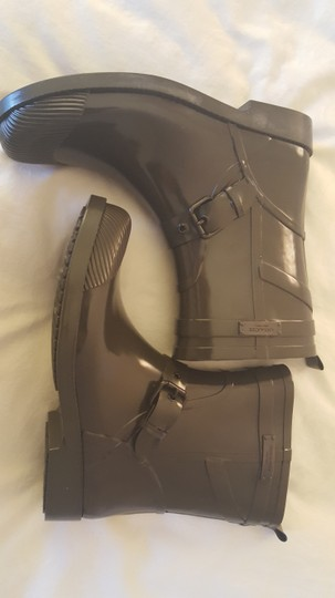 Coach Rainboots Rubber Fatigue Boots