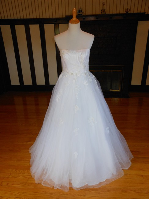 Item - White Op1001 Destination Wedding Dress Size 6 (S)